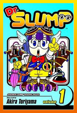 Dr. Slump Vol. 1 Cover