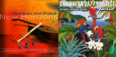New Horizons-Paraíso - Caribbean Jazz Project Covers
