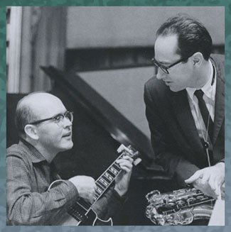 Jim Hall and Paul Desmond