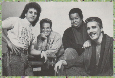 Dave Weckl-Manolo Badrena-Anthony Jackson-Steve Khan by David Tan